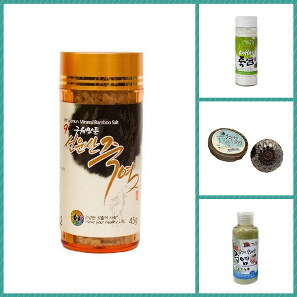 Bamboo Salt Products