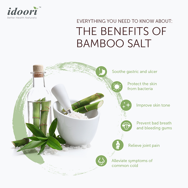 Korean Bamboo Salt Benefits
