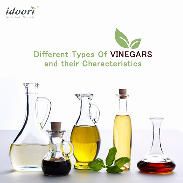 Different types of vinegar and it's benefits